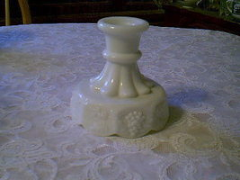 Westmoreland Paneled Grape Candlestick - $10.00