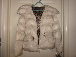 Express cream puffer jacket - small image 1