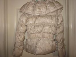 Express cream puffer jacket - small image 4