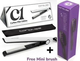 Corioliss C1 White  Flat Iron  Hair Straightener + Hair Straightener Brush - $89.00