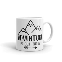 New Mug - Adventure is out there Namaste Hippie Camper Camping hip - $10.99+