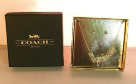 COACH Star Necklace & Earring Boxed Set #56429 Silver 75th Anniversary STAR - $79.99