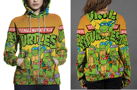 ninja tutles birthday quotesgram Zipper Hoodie Women's - $48.99+