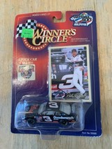 Winners Circle Dale Earnhardt Trading Card And Doe Cast Car Daytona 500 1998 - $14.84