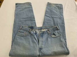 VTG Levis 570 Mens 38 X 32 Blue Jeans Tapered Leg Loose Fit Baggy USA 90's - $38.00