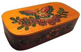 Fairy Box Polish Handmade Wooden Keepsake Girls Jewelry Box  - €26,11 EUR