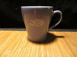 2006 Starbucks XO Embossed Mug Lavender/Blue Coffee Cup 15 oz - $15.99