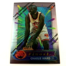 Charlie Ward 1994-95 Topps Finest Rookie Card #321 NBA New York Knicks H... - $2.92