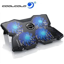 12-17 Inch Laptop Cooling Pad 4 Fans USB Laptop Cooler Notebook Stand LE... - €44,05 EUR