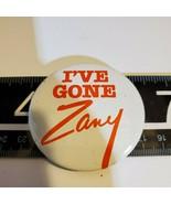 "Avon Button I've Gone Zany (Perfume Fragrance) 2"" Promo PinBack Promo Ba... - $7.37"
