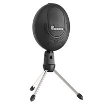 Cobblestone Microphone Cardioid USB Studio Condenser Mic Recording Computer - $26.68