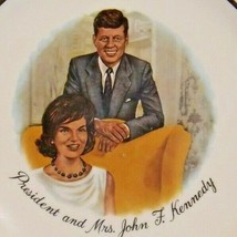 President and Mrs. John F. Kennedy AA20-CP2314 Vintage Commemorative Plate image 2