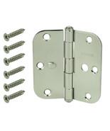Everbilt 3-1/2 inch X 5/8 inch Radius Stainless Steel Security Door Hinge - $9.59