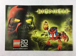 Lego Bionicle Star Wars Mind Storms Year of 2002 Advertisement Booklet - $9.90