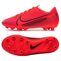 Nike Mercurial Vapor 13 PRO HG Football Shoes Soccer Cleats Red AT7902-606 - $119.99