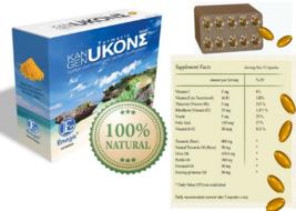 Organic Kangen Ukon Sigma Turmeric Super Anti-Oxidixing Dietary Suppleme... - $64.95