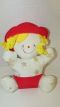 Melissa & Doug K's Kids Bath Time Friend Julia doll mud spots red hat to... - $13.36