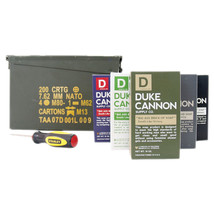 Duke Cannon Military Ammo Case Gift Set - $80.00