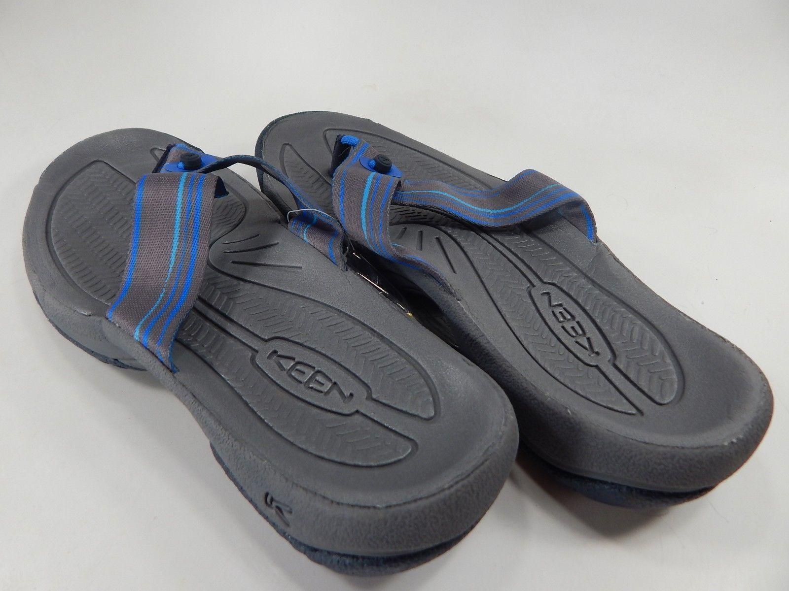 Keen Kona Flip Flop Slip On Sandals Men's Size US 9 M (D) EU 42 Dress Blue/ Gray