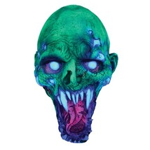 Morris Costumes 1115NBS Uv Schell Shocked Latex Mask - One Size Days Until Shipp - $45.75