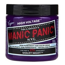 Hair Dye Manic Panic Classic Cream Violet Night Purple Free Gloves - $12.86