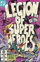 (CB-7) 1982 DC Comic Book: Legion of SuperHeroes #293 - $6.00