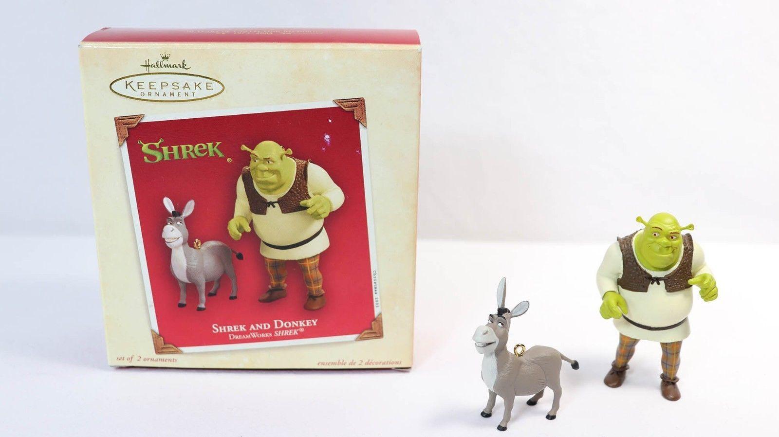 Donkey Christmas Ornaments.Hallmark Keepsake Christmas Ornament Shrek And 50 Similar Items
