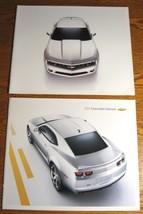 2010 & 2011 Chevrolet Camaro Prestige Brochure LOT, LT RS SS GM HUGE - $22.55