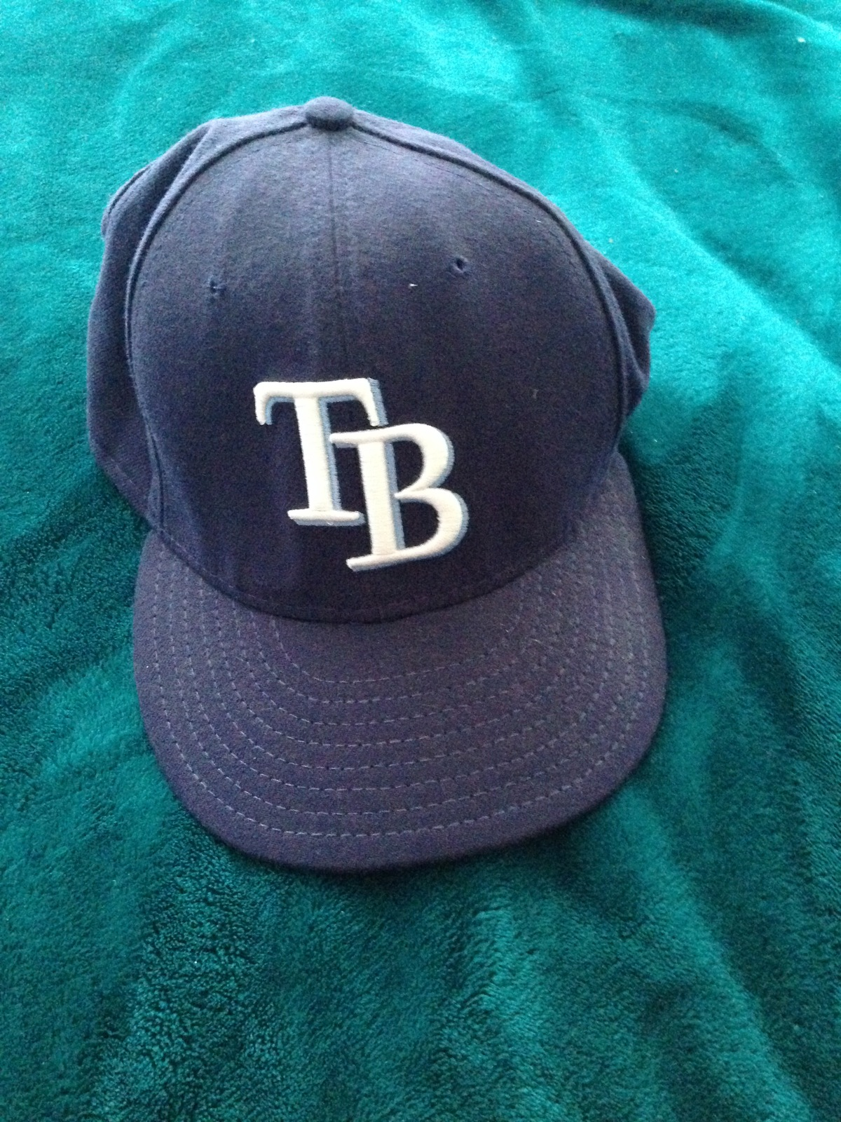 132ada19936 tampa bay rays baseball hat size 7 3 8 by authentic collection new era