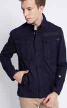 G Star Raw Men's Rovic Overshirt Jacket in DK Saru Blue Canvas Size L BN... - $99.75