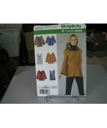 Simplicity 2852 Misses Knit Tunics or Top Pattern - Size 16-24 Bust 38-46 - $7.91