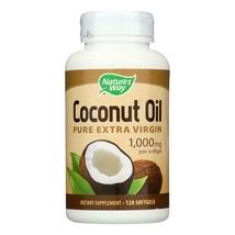Nature's Way - Coconut Oil - 1000 mg - 120 Softgels - $18.49