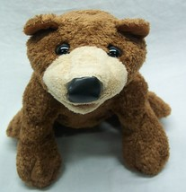 "Folkmanis Nice Brown Bear Hand Puppet 13"" Plush Stuffed Animal Toy - $19.80"