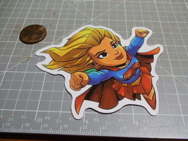 TOON SUPER GIRL Sticker / Decal Skateboard Stickers Actual Pattern NEW G... - $1.48