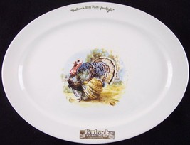 "Vintage Badcock Furniture Advertising 13.5"" Small Turkey Platter - $19.99"