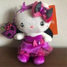Hello Kitty USJ Halloween Limited Plush Doll Purple Bat 2014 Sanrio JP N... - $76.43