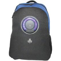 3Eye 3EYE-BLUE Backpack with Bluetooth Speaker (Blue) - $119.15 CAD