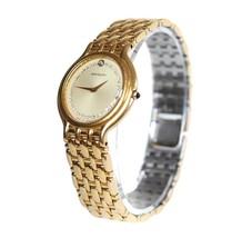 Auth Orient Mon Bijou Gold Plated & Stainless Steel Quartz Watch Unisex OW16569L - $139.00