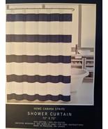 Nautica Home Cabana Stripe Navy/White Shower Curtain - $34.00