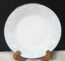 Noritake Ravel #2213 1972-1982 White Flowers W Blue Bread Butter Cake Plate 1PC - $11.88