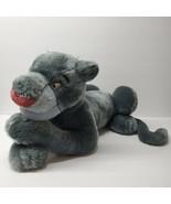 "Disney Store Bagheera Plush 20"" The Jungle Book Gray Panther Blue Jumbo ... - $48.23"