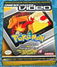 Game Boy Advance Video Pokemon Johto Foto Finitura da Gioco con Fuoco - $25.79