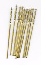 Lot of Ten (10) Brand New High Quality Brass Ballpoint Pen Refills Black... - $13.86