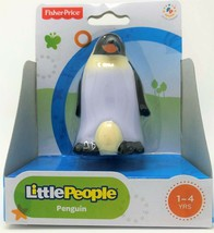Fisher-Price Little People Pinguin Tier Zoo Safari Figur Spielzeug - $12.21