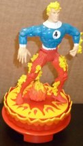 "FANTASTIC FOUR HUMAN TORCH action figure toy 5.25"", 1996 Marvel Toy Biz - $28.99"