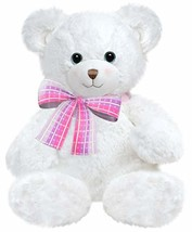 "First & Main 10"" White Dena Teddy Bear, One Size, Multicolor - $10.99"