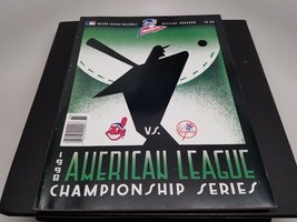 1998 AMERICAN LEAGUE CHAMPIONSHIP SERIES PROGRAM - $12.38