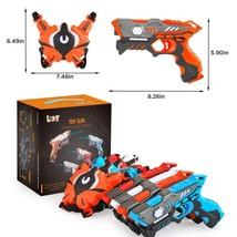 Infrared Laser Tag Guns Blasters and Target Vests Kids 4 Player Set Game... - $147.60