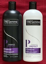 PAIR of TRESemme Damage Protect Shampoo and Conditioner - 28 fl oz each bottle - $6.00