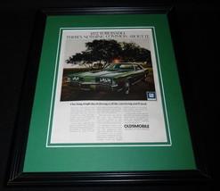 1972 GM Oldsmobile Toronado 11x14 Framed ORIGINAL Vintage Advertisement - $39.59